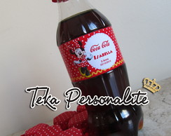 R�tulo De Mini Coca-cola Minnie