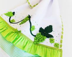 Pano De Prato  - Uvinhas Verdes
