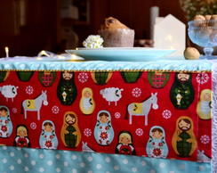 Caminho de Mesa - Natal Matrioska