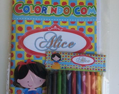 Kit Colorir - Branca de Neve