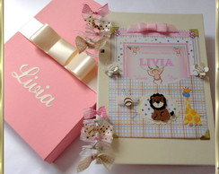 Album Bebe Scrap Di�rio Safari ROSA