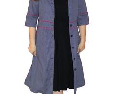 Vestido Casaco Polka Dot