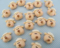 Aplique ovelha biscuit