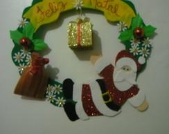 Guirlanda de Natal em e.v.a.