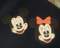 PORTA PIRULITO DO MICKEY E MINNIE