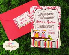 Convite - Corujinhas