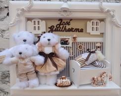 Quadro Maternidade Beb� Fam�lia Urso