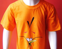 Camiseta Infantil Angry Birds - Orange
