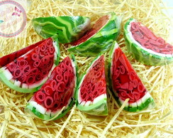 Sabonete fatia de melancia