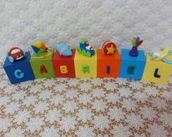 Cubos Brinquedos - GABRIEL