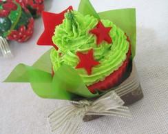 Cupcake �rvore de Natal