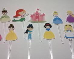 Toppers Corte Especial - Princesas