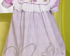 Vestido Infantil - Floral (VEST10)