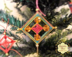 Mini-mandalas natalinas
