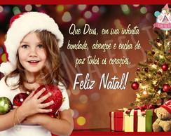 �m� com foto - Natal