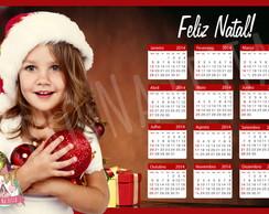Calend�rio �m� Com Foto - Natal