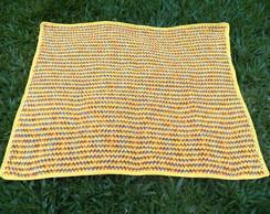 Colcha em crochet Wave