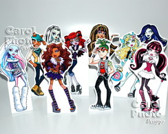 Mini Totens Monster High 25cm c/ base