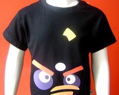 Camiseta Infantil Angry Birds - Bomba