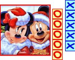 Natal do Mickey Jogo Da Velha