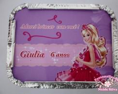 Marmitinha Barbie Sapatilhas M�gicas