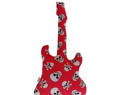 Guitarra De Tecido - Estampa caveiras
