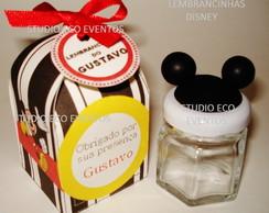 Lembrancinha Mickey (caixa+pote de doce)