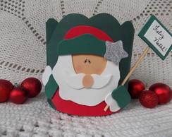 Porta Panetone Papai Noel