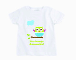 Camiseta Tia Coruja