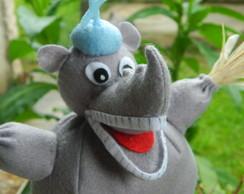 Rinoceronte Quindim - Centro De Mesa