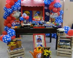 Decora��o de Festa Galinha Pintadinha