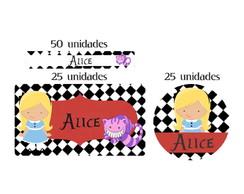 Kit Etiqueta prova a �gua Alice
