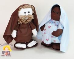 Bonecos Jos� e Maria