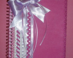 caderno 1/4 customizado