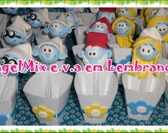 Copinhos de mesa Smurfs
