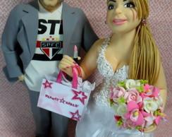 Topo De Bolo - Noivos Personalizados