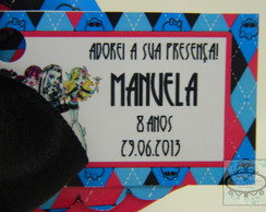 Tags Personalizadas Monster High