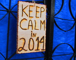 DECORA��O ano novo 2014 KEEP CALM