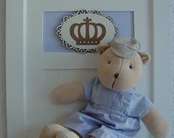 (MO 0221) Quadro maternida urso pr�ncipe