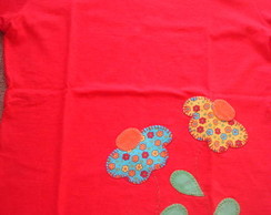 Blusa feminina flores