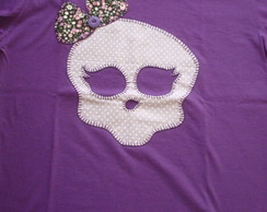 Blusa feminina Monsterhigh roxa
