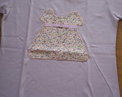 Blusa feminina vestido lil�s