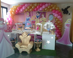 Aluguel decora��o Princesas Clean