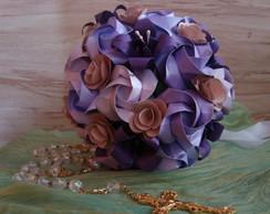 Buqu� Noiva de origami
