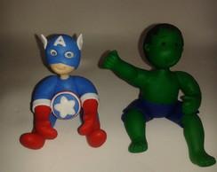 topo de bolo capit�o am�rica e hulk