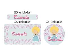 Kit Etiqueta prova a �gua Cinderela