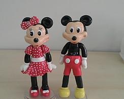 Topo de Bolo Mickey e Minnie