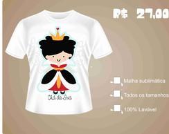 Camisa Rainha de Copas ( Alice )