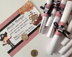 Convite Piratas