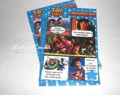 Convite Gibi Toy Story
